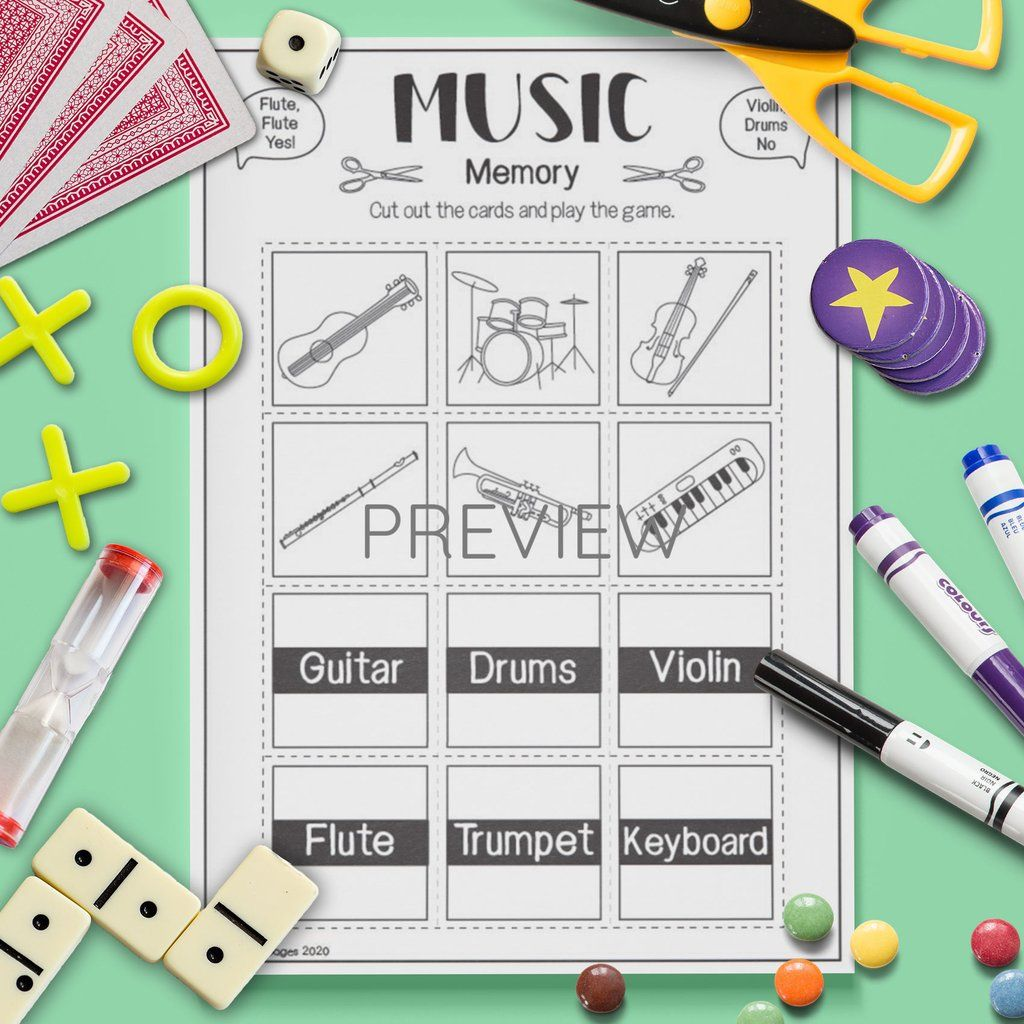 Pin On Esl Kids Musical Instruments Games