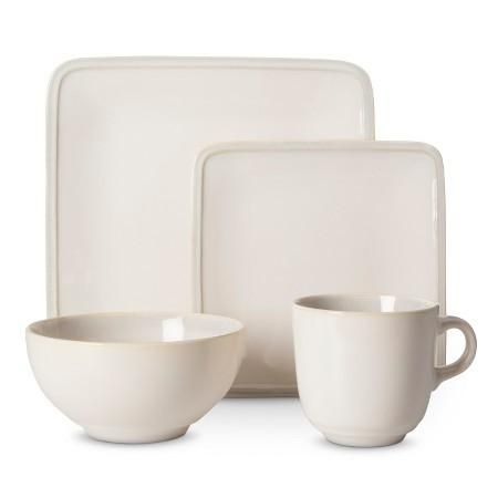 Target - Square Glazed Dinnerware Set 16-Pc $24 (was $70) #LavaHot  sc 1 st  Pinterest & Target - Square Glazed Dinnerware Set 16-Pc $24 (was $70) #LavaHot ...