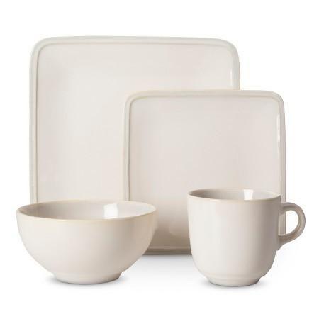 Target - Square Glazed Dinnerware Set 16-Pc $24 (was $70) #LavaHot  sc 1 st  Pinterest & Target - Square Glazed Dinnerware Set 16-Pc $24 (was $70) #LavaHot ...