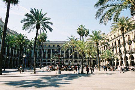 1859 - Plaça de Reial, Barcelona