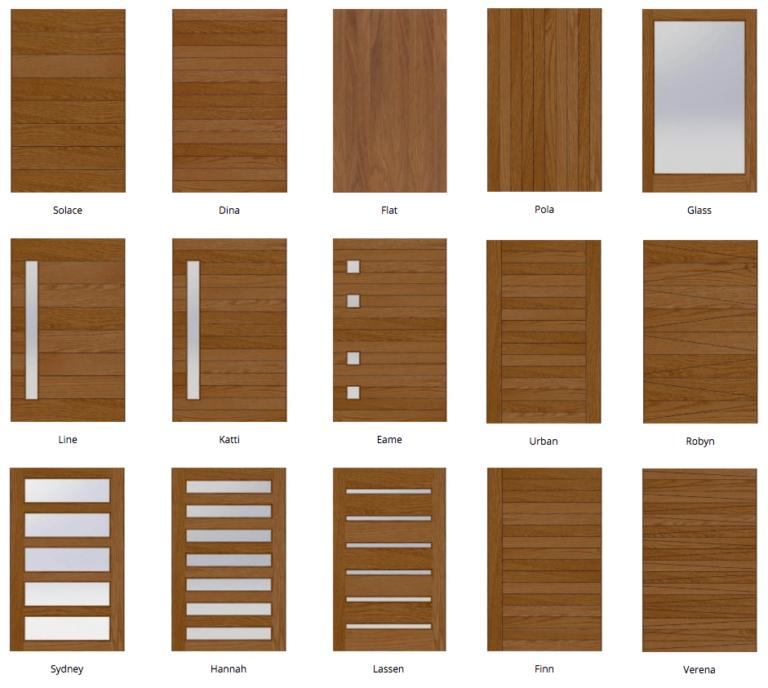 Exterior Pivot Doors – Pre-Built – Flat – Pivot Door Company