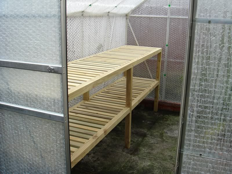 Image detail for uk view topic diy wooden for Inexpensive greenhouse shelving wood