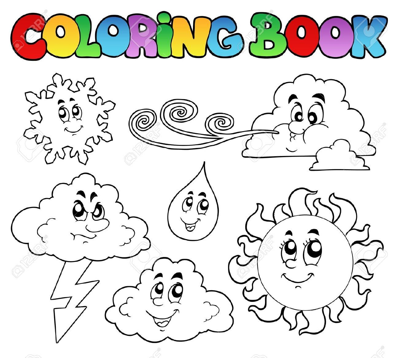 fire weather coloring book - Google Search | Johns retirement ...