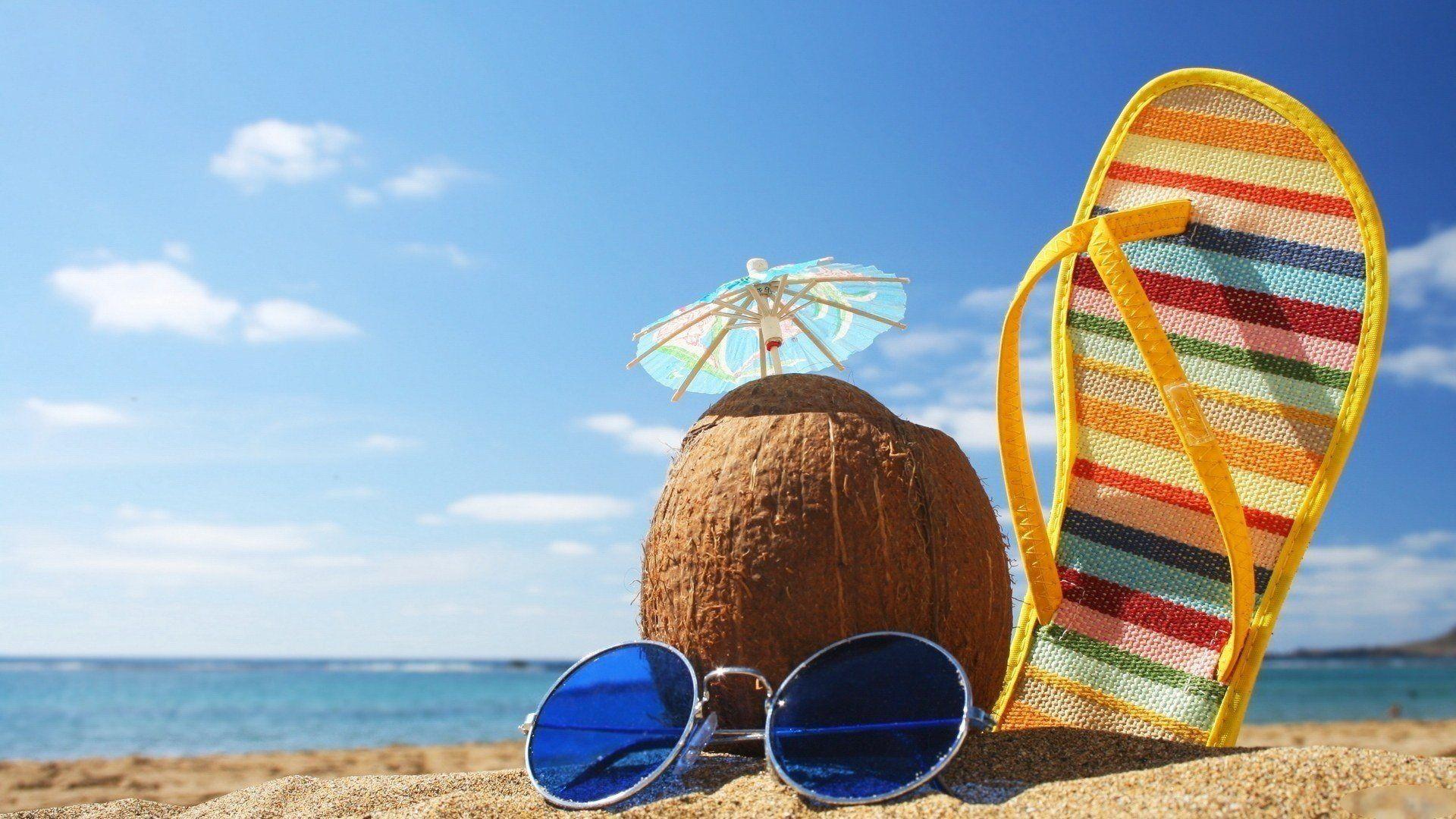лето море солнце пляж картинки нарисованные: 19 тыс ...