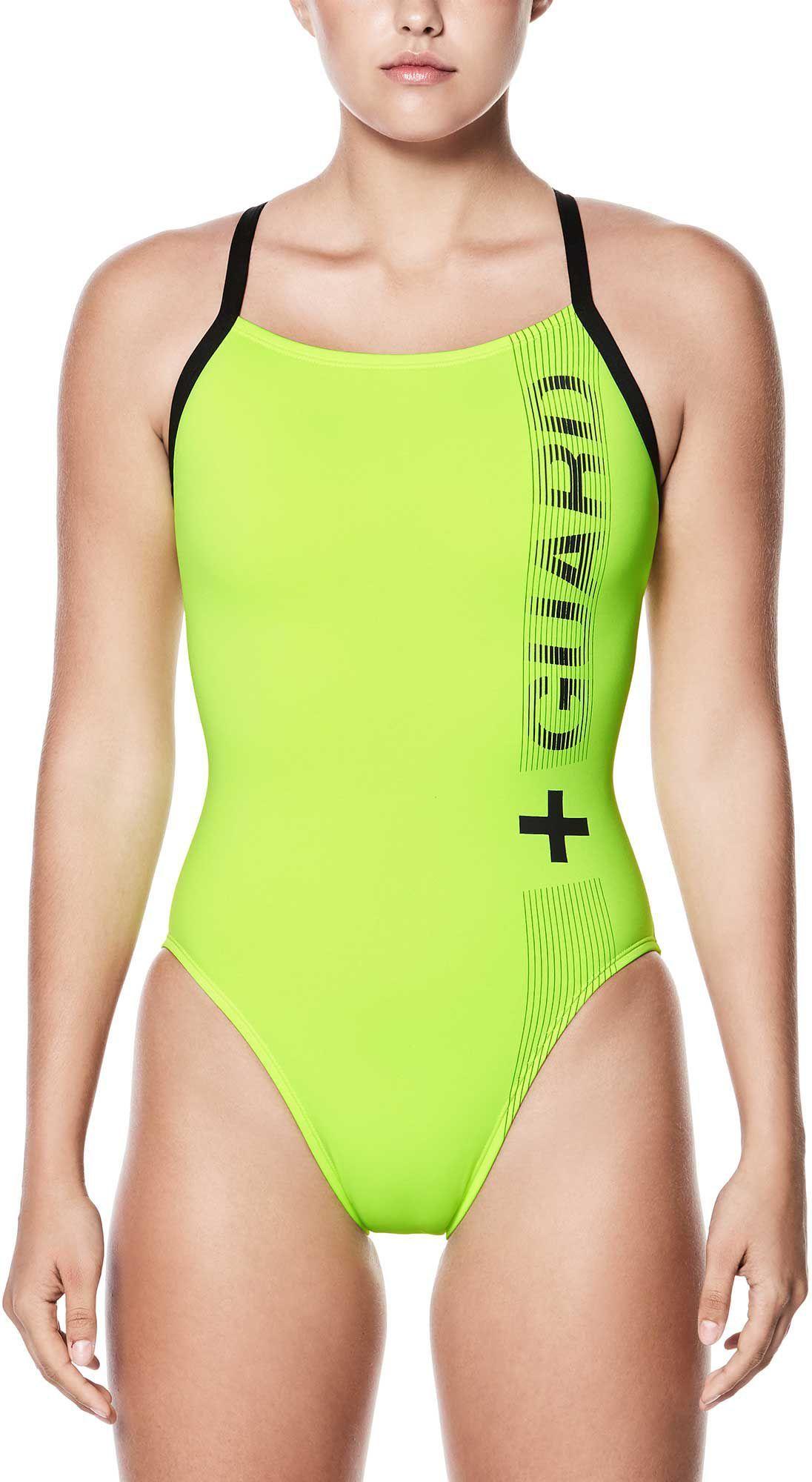 women's nike air max motion racerback swimsuit