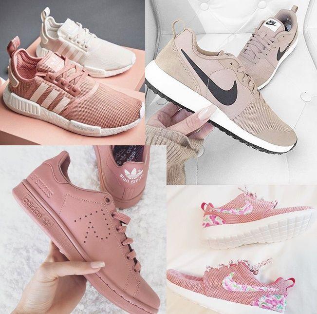 Sapatos Minimalistas X Tendências  uma seleção linda de tênis super  confortáveis na cor do ano  rose quartz! 4aa2ae94a8c82