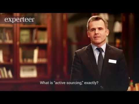 Active Sourcing as a New Recruitment Strategy [VIDEO] - Experteer Magazine