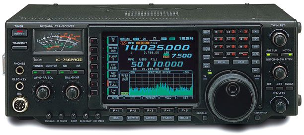 Icom IC-756ProII Transceiver