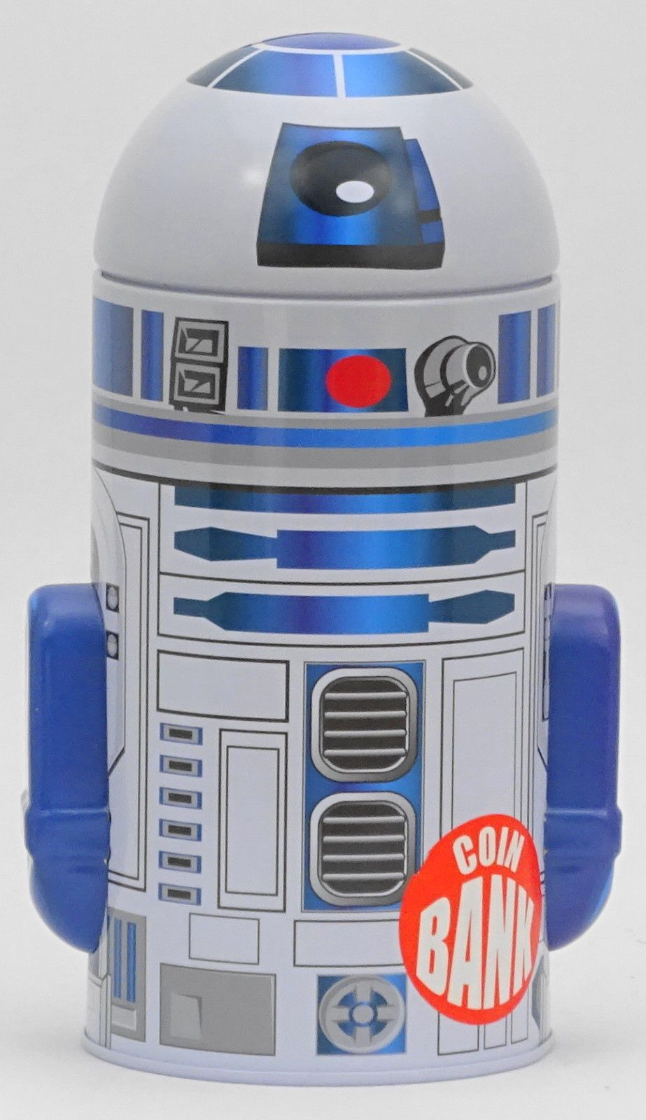 Star Wars R2 D2 Metal Tin Coin Bank Star Wars Awesome Coin Bank Toy Bank