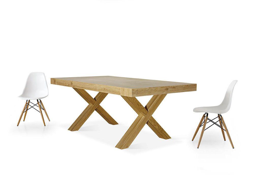 Tables Chairs Tavolo Allungabile Rettangolare In Rovere Legno Naturale 654 Ebay Tavolo Tavolo Allungabile Tavoli