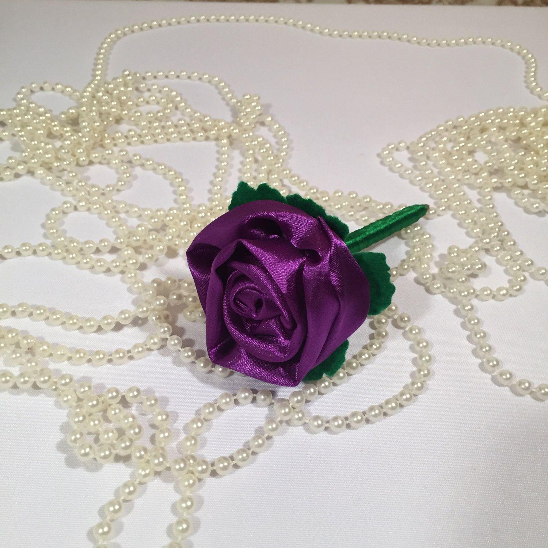 ROSE FLOWER PEN Purple Wedding Bridal Shower Favors Bachelortte ...