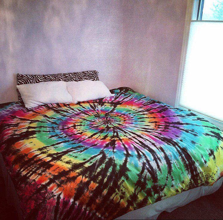 Tie Dye Duvet Cover Tie Dye Bedding Hippie Bedding