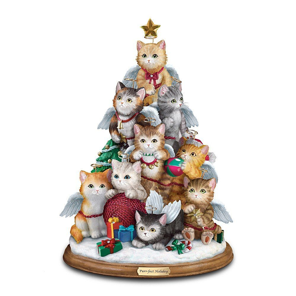 yesterday i posted a dog christmas tree and i found a cat christmas tree