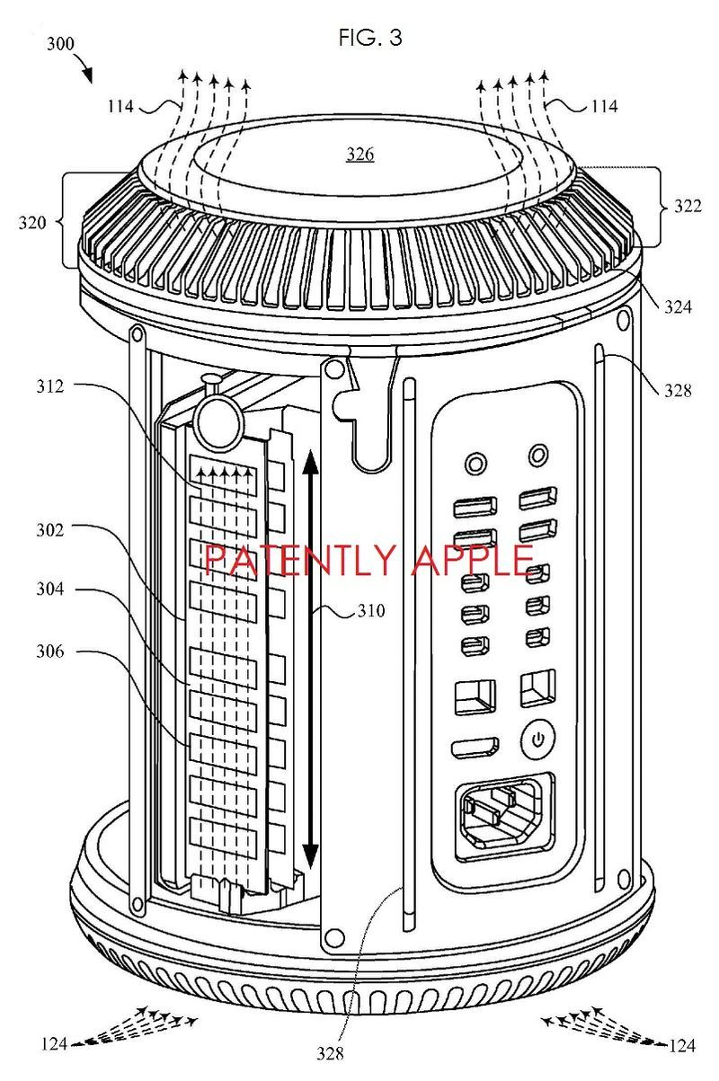 Apple's Mac Pro Detailed in Six In-Depth Patents