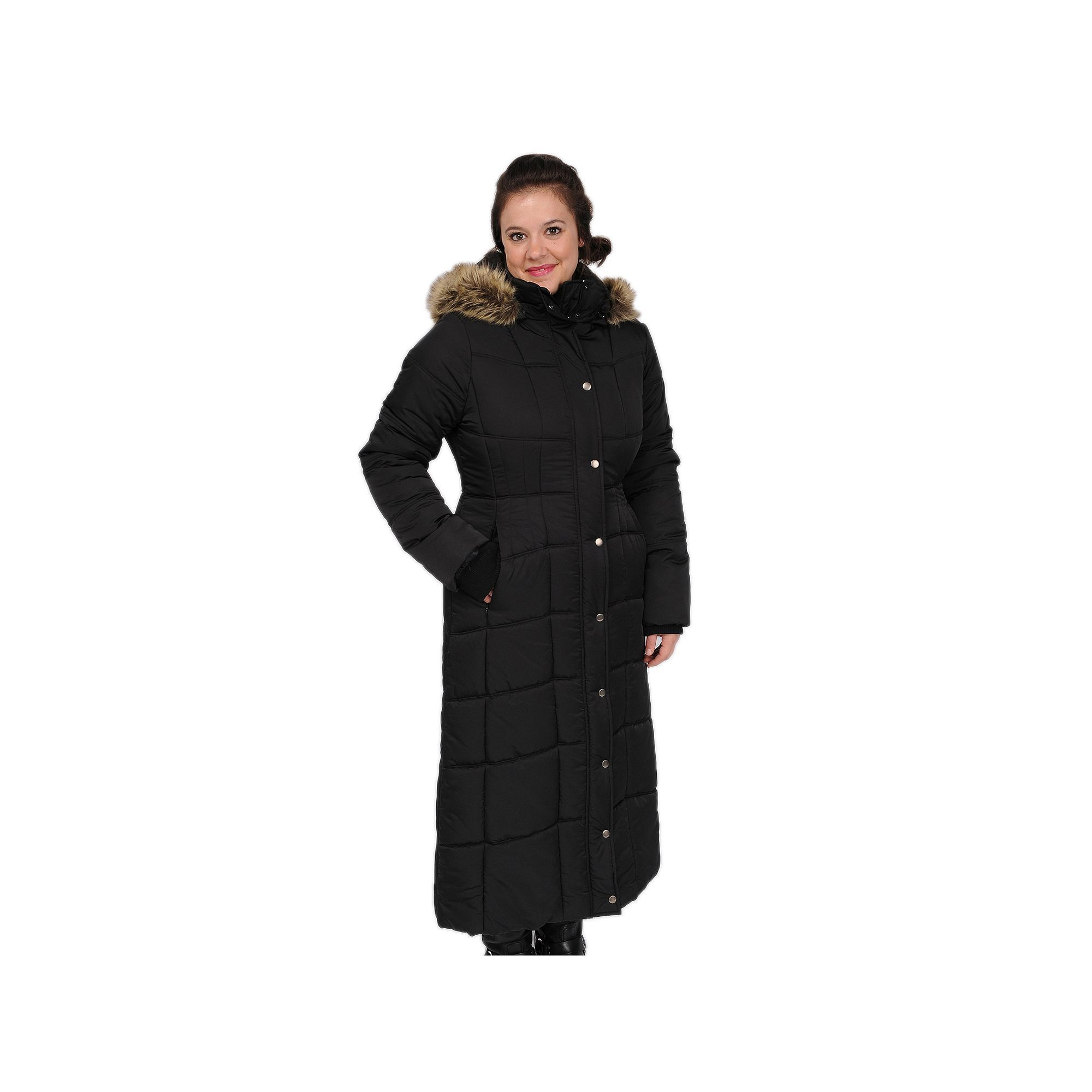 3250405a46b6d Women s Excelled Hooded Long Puffer Coat