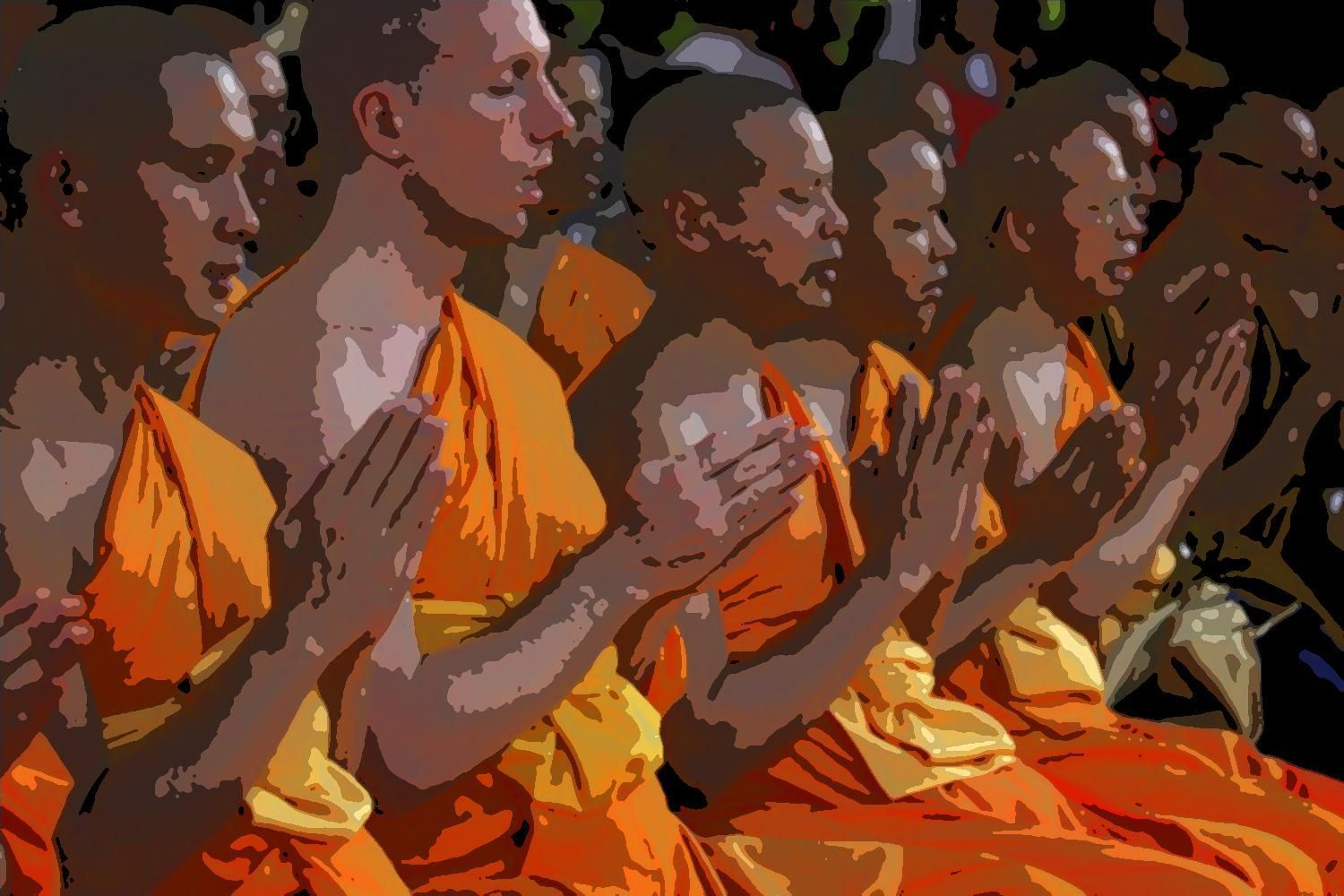 How to a Buddhist Monk Buddhist monk, a