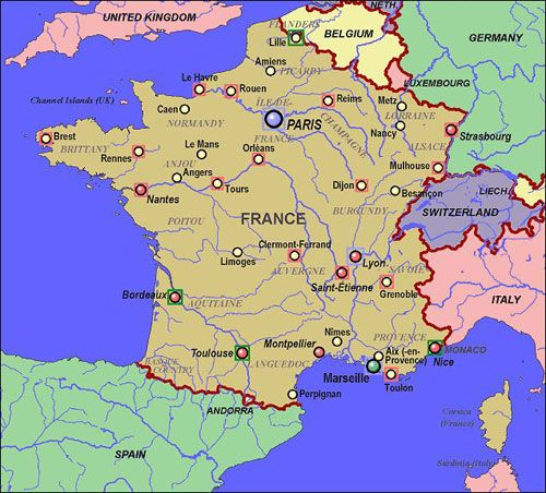 Lyons France Map Google Search France Pinterest France Map