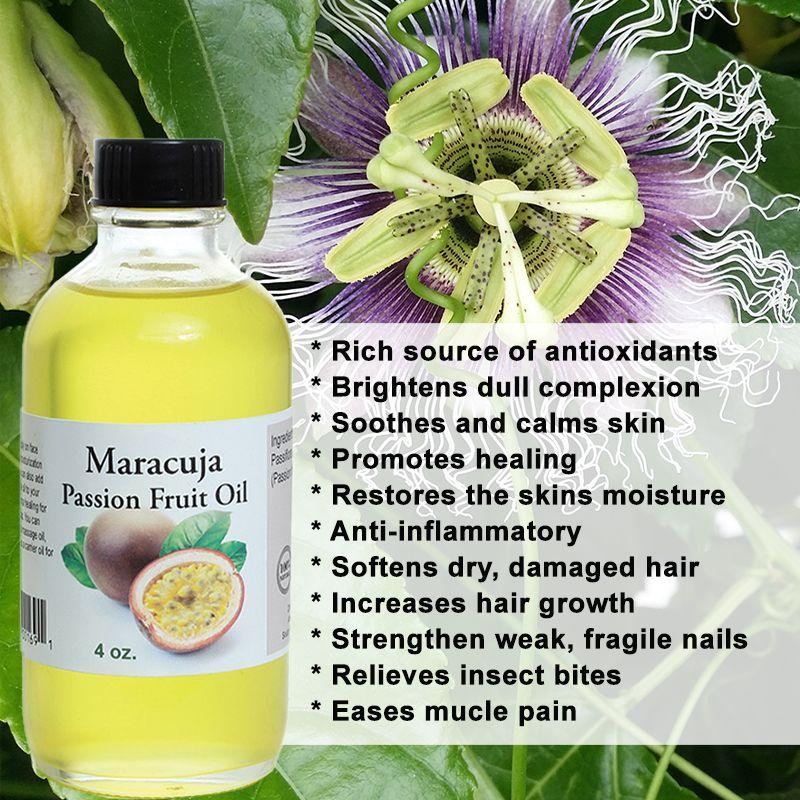 Maracuja Passion Fruit Oil 4 Oz In 2020 Maracuja Skin Calming Skin Moisturizer