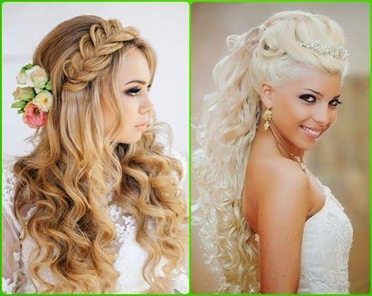 Brautfrisuren lange haare 2015