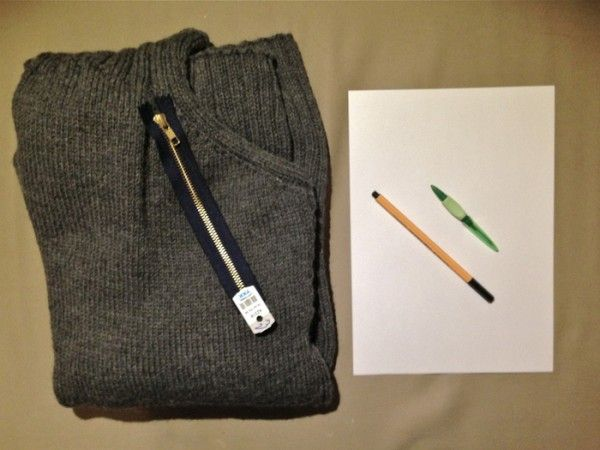 Tips on how to attach zipper to sweaters