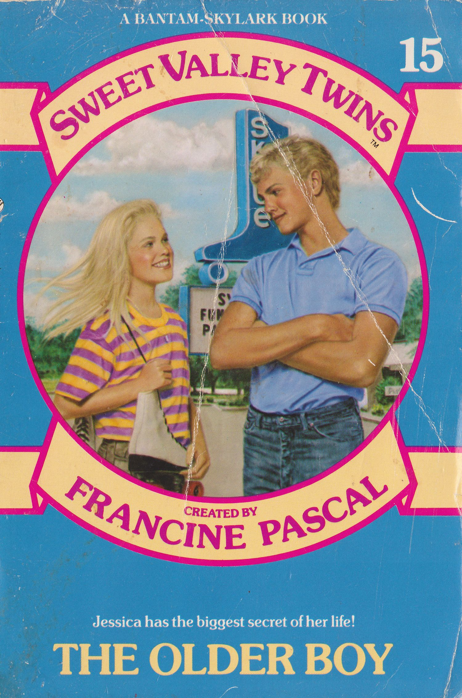 Vol 15 Sweet Valley Twins The Older Boy By Francine -7135