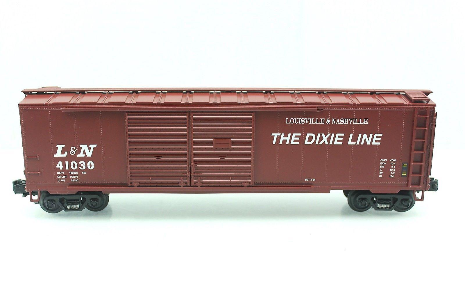 O Mth L N 41030 Dixie Line 50 Double Door Box Car 20 93013 Box Car Car Roof Box Double Doors