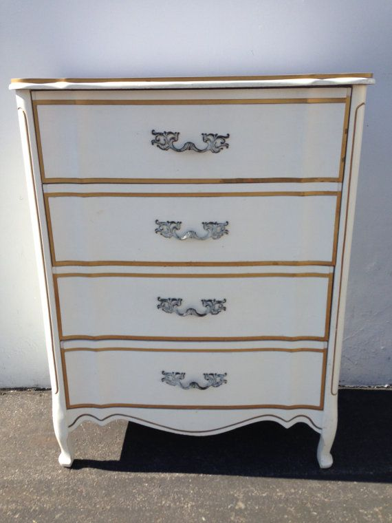 French Provincial Dresser Chest Drawers