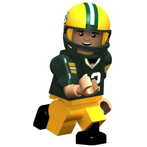 Aaron Rodgers Green Bay #Packers OYO Minifigure. Click to order! - $12.99