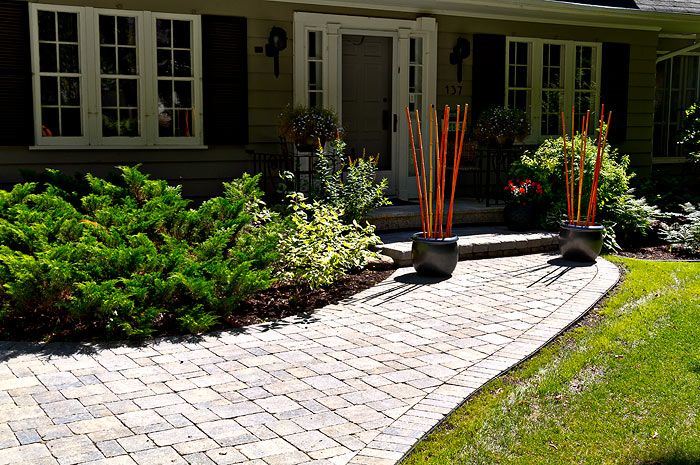 Love the brick sidewalk and steps to front door. & Love the brick sidewalk and steps to front door. | Outside spaces ...