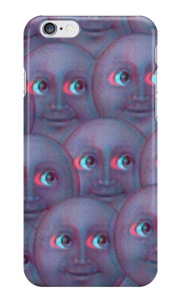 pretty nice c082d ef057 Moon Emoji - Fuzzy | iPhone Case & Cover | Style to adore | Moon ...