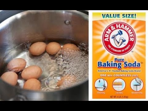 Put Baking Soda When You Boil Eggs, and This Will Happen