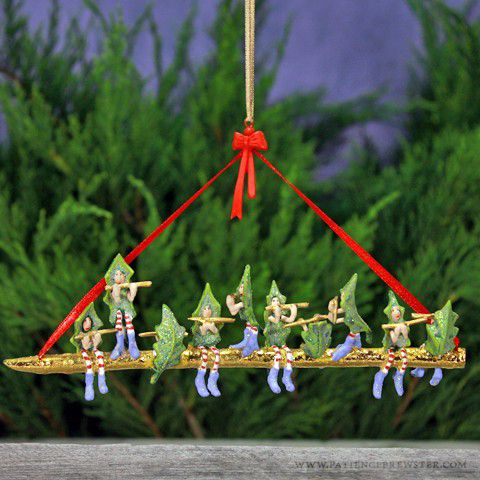 Ten Pipers Piping Ornament