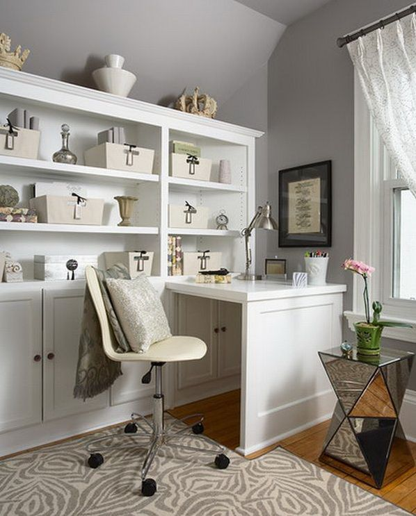 Merveilleux 20 Home Office Design Ideas For Small Spaces