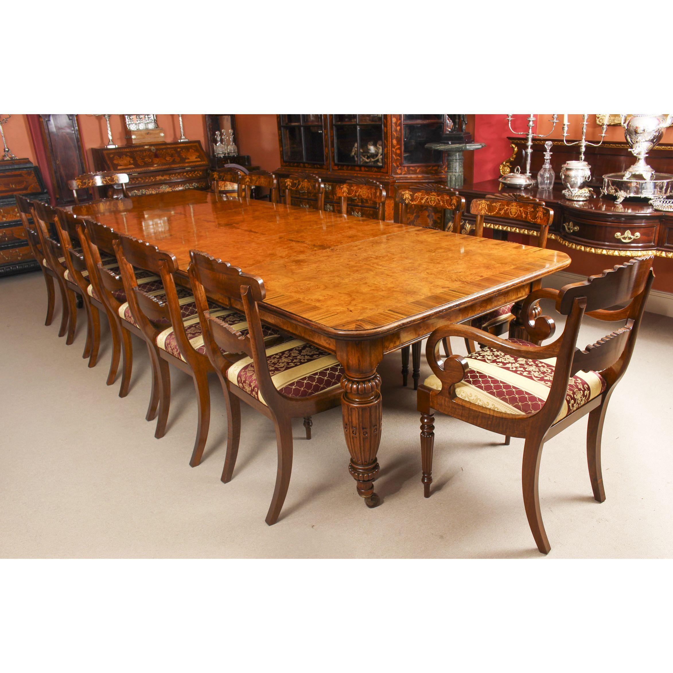 Antique Pollard Oak Victorian Extending Dining Table 19th C 12
