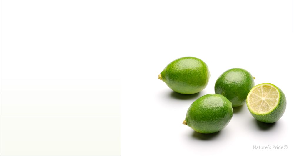 Limequats - a citrofortunella hybrid that is the result of a cross between the key lime and the kumquat