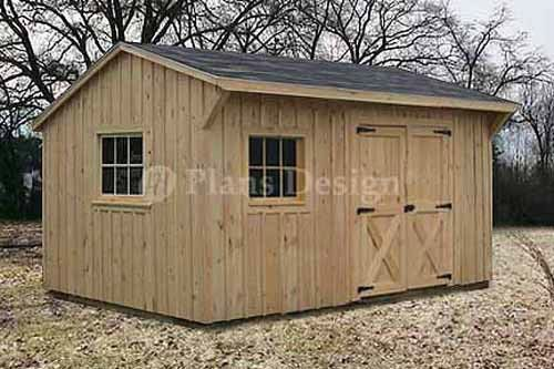 10 X 14 Saltbox Roof Garden Storage Shed Plans Blueprints 71014 Shed Plans Garden Storage Shed Diy Shed Plans