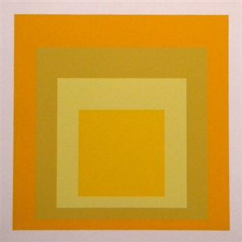 Josef Albers silkscreen | Homage to the Square