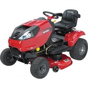 2009 Craftsman 13 5 Hp 30 In Deck Rer Lawn Tractor Review Lawn Tractor Tractors Riding Mower