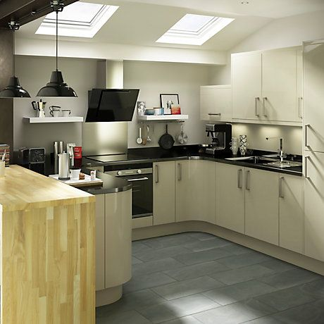 It Santini Anthracite  Kitchen Ranges  Kitchen  Rooms  Diy At Inspiration Bandq Kitchen Design Decorating Inspiration