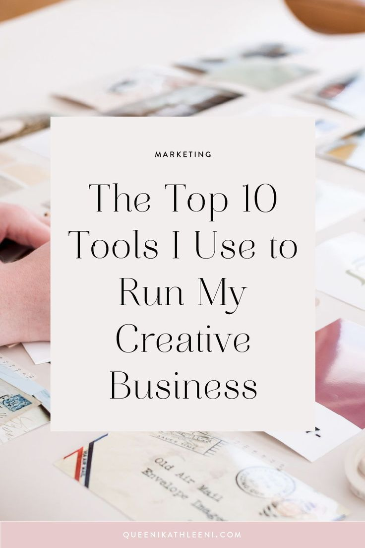 The 10 Tools I Use To Run My Creative Business — Queenikathleeni Designs