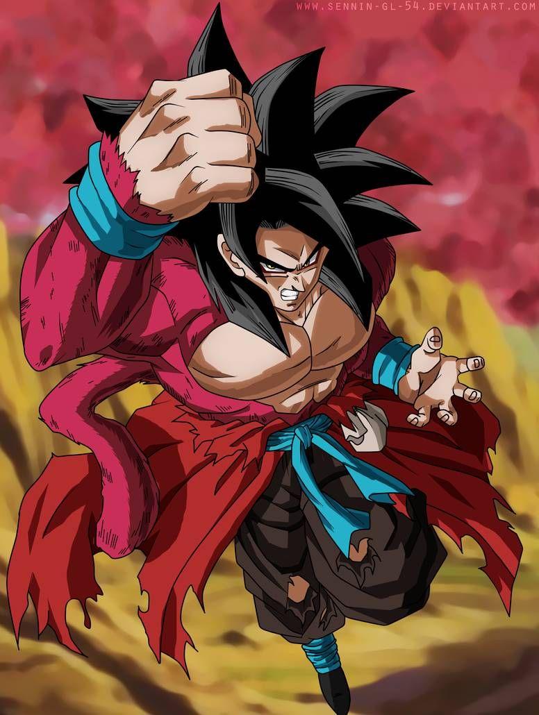 Goku Xenoverse Ssj4 Fast Color By Sennin Gl 54 On Deviantart