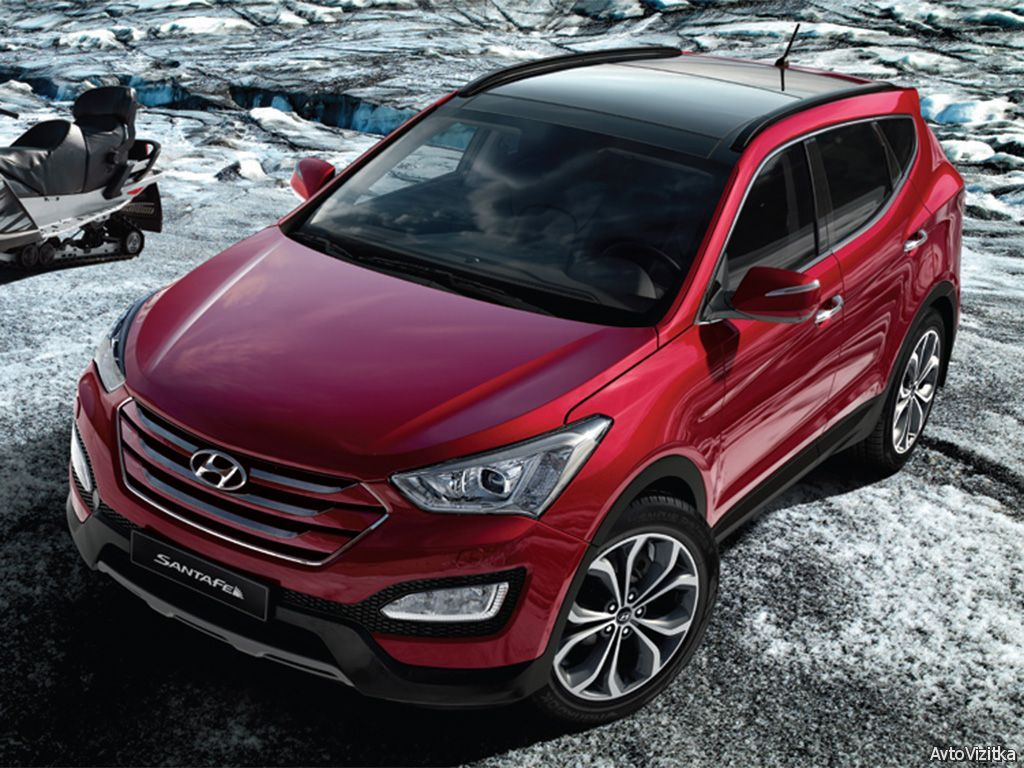 Tundra? No Worries Hyundai SantaFe Carros de luxo
