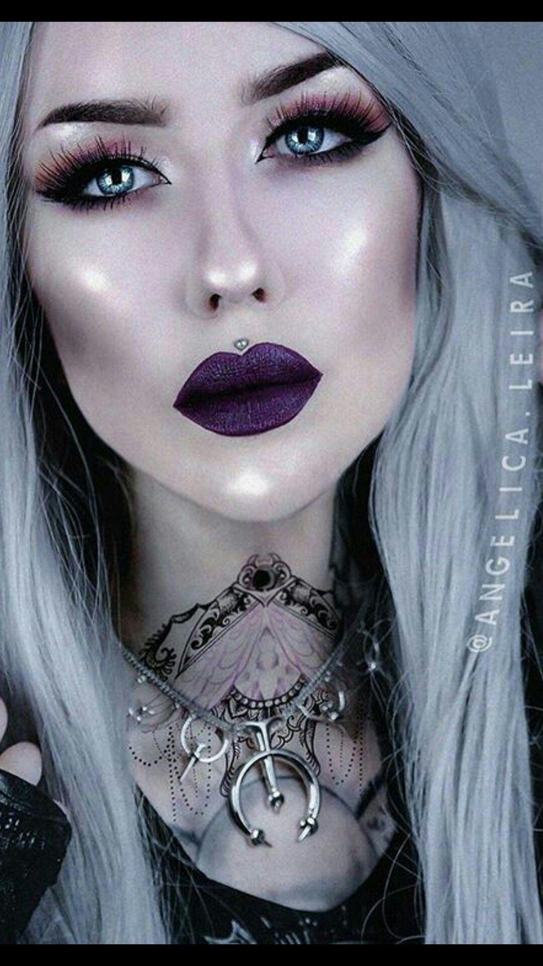 Chicas Para Tus Novelas 1 Kiittenymph Goth Girls Are Hot-3910
