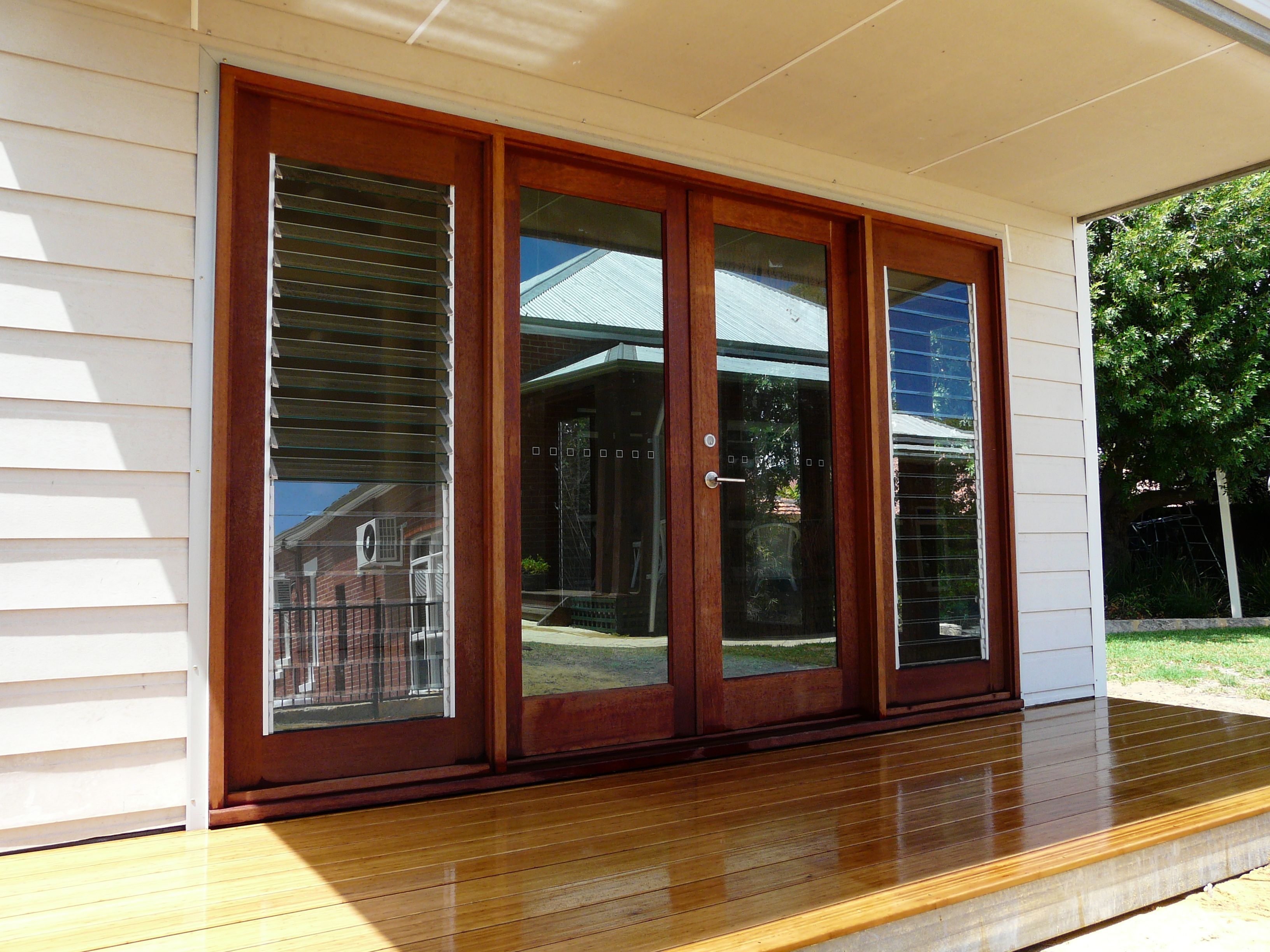 French doors for your granny why not it look great for Looking for french doors