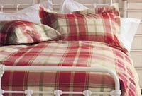 Laura Ashley BUXTON CHECK DOUBLE DUVET COVER