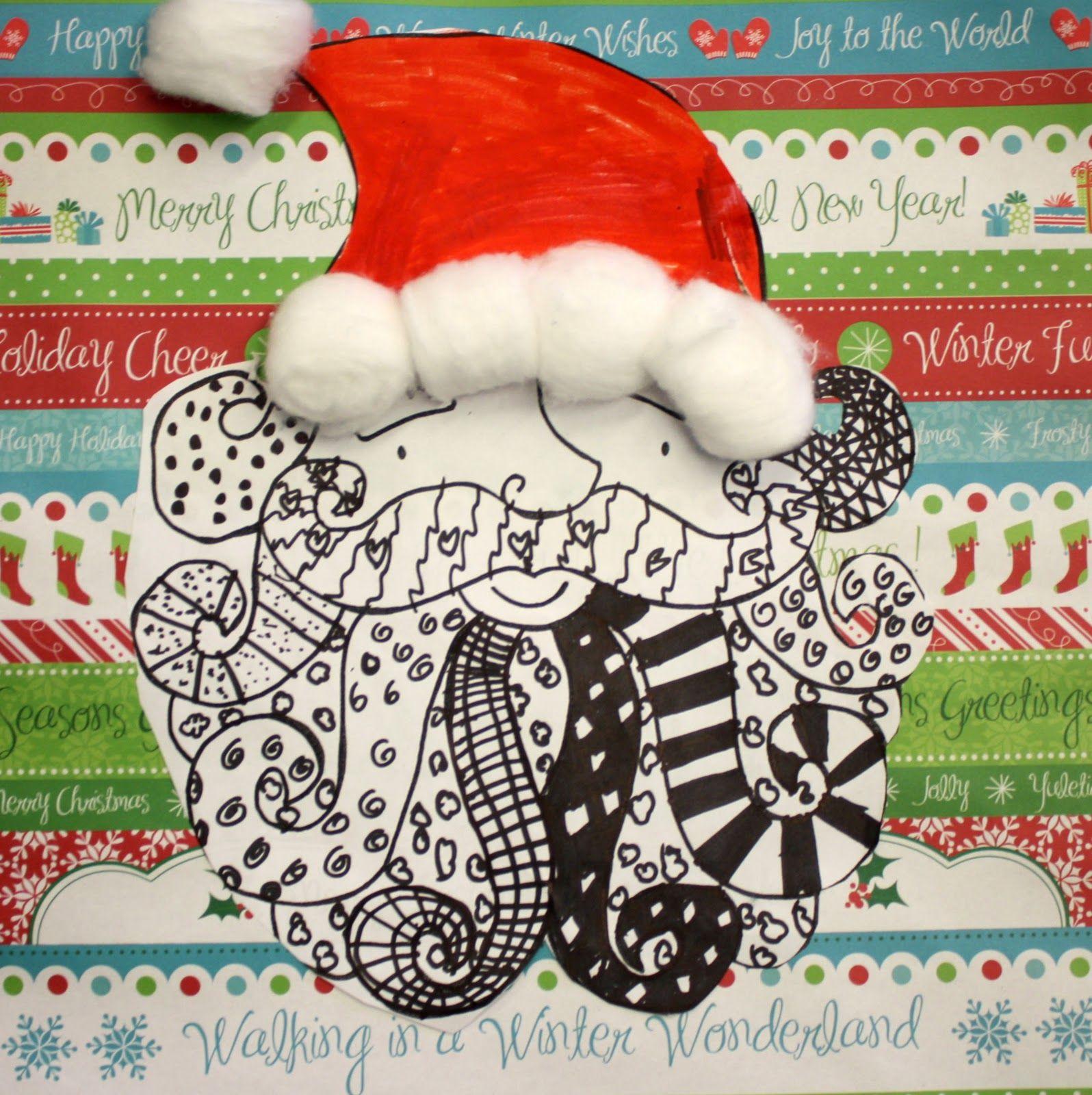 Artisan Des Arts Easy Santas Grade 3 4 5 Cam Projects