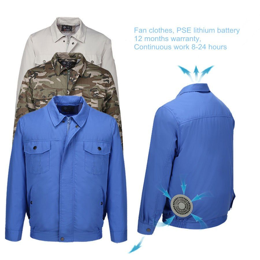 Safety Super Air Conditioning Wind Jacket Fan Suit Summer