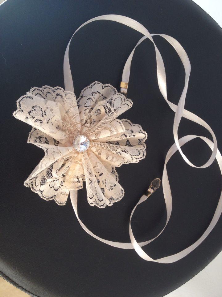 Headband para uma daminha linda casamento de sua mae