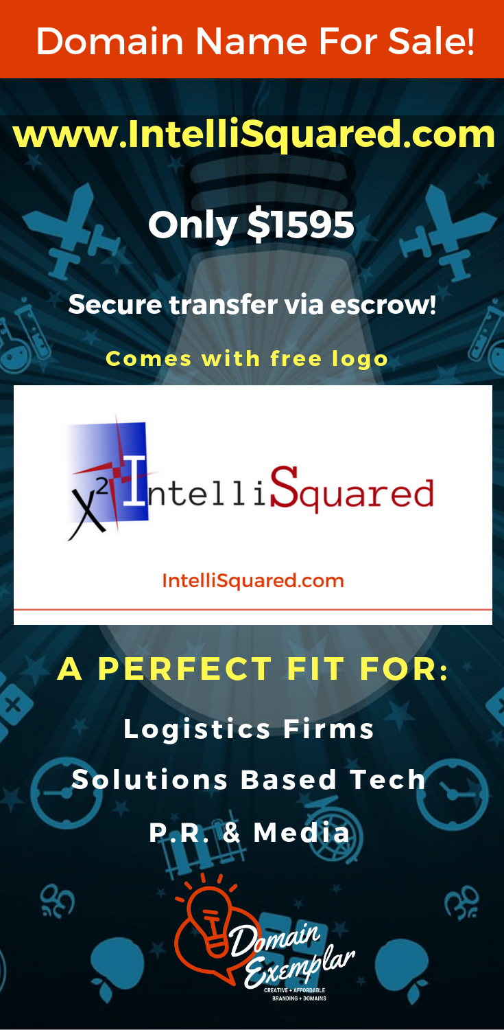 IntelliSquared com is a true premium domain from our