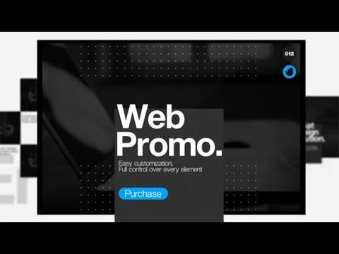 Web Presentation | After Effects template